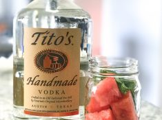 fruit infused vodka